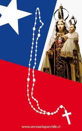 volante un rosario por chile