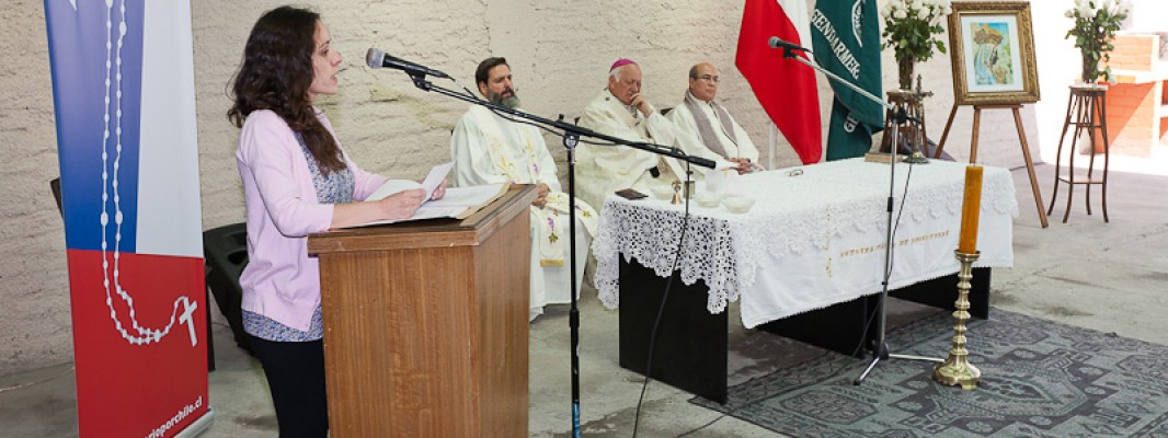 """En eucaristía celebrada por Monseñor Ezzati realizamos el lanzamiento formal de """"Un Rosario por Chile"""""""