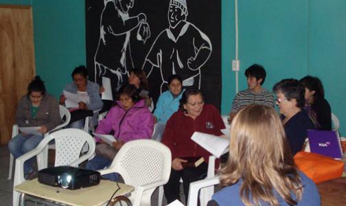 Chiloé: Un Rosario por Chile apoyando la pastoral en las parroquias