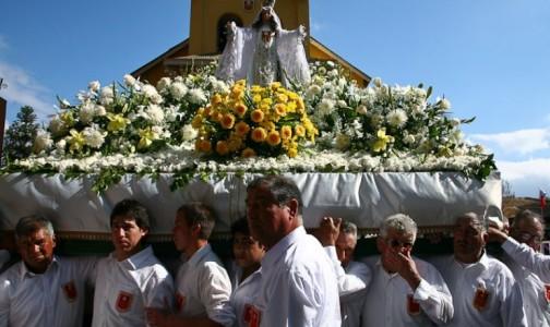 UN ROSARIO POR CHILE EN LA CELEBRACIÓN DE LA MERCED EN ISLA DE MAIPO