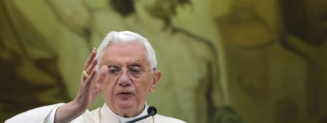 Benedicto XVI: La crisis de fe es el mayor desafío para la Iglesia