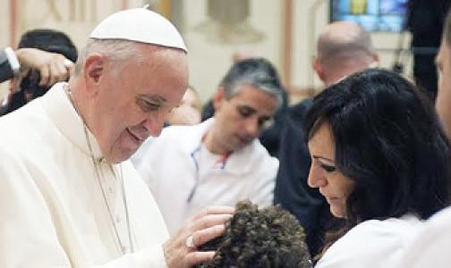 papa francisco y oracion por las familias