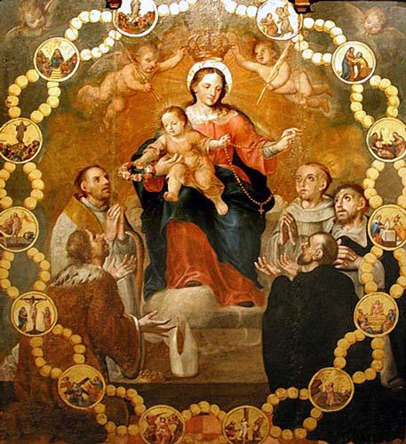 Resultado de imagen para nuestra señora del rosario