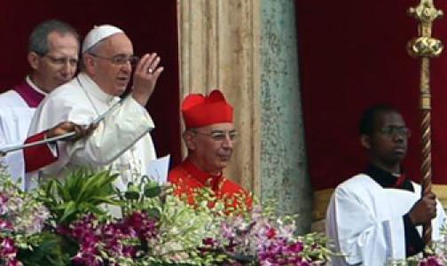 PASCUA 2015: Bendición «URBI ET ORBI» y Mensaje del Papa Francisco
