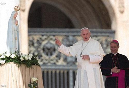 papa fatima rosario