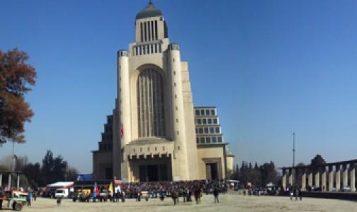 """""""Un Rosario por Chile"""" presente en Fiesta de la Virgen del Carmen"""