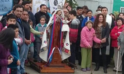 Chiloé a los pies de la Virgen del Carmen