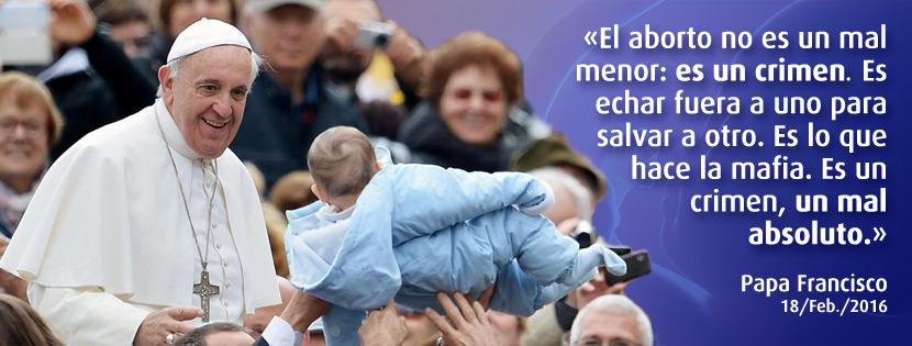 aborto papa francisco