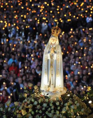 fátima virgen procesión