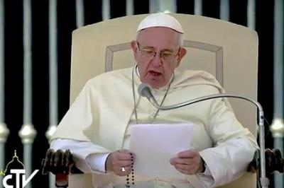 Papa Rosario Terremoto en Italia
