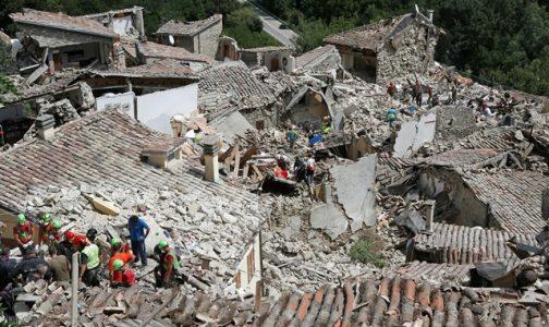 Terremoto en Italia: el Papa reza el Rosario por las víctimas