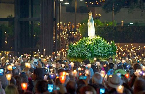 fátima procesión santuario