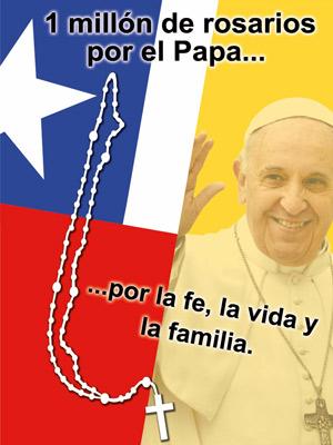 rosario papa vida familia