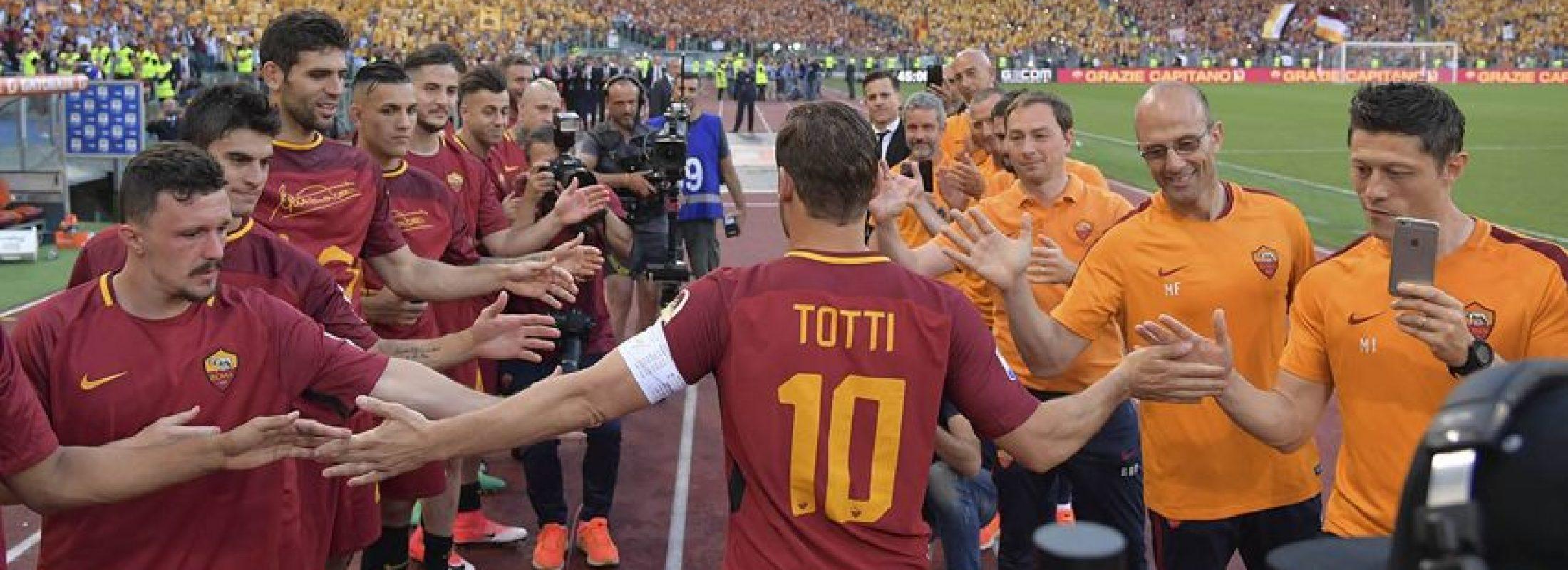 """Francesco Totti, ídolo del fútbol italiano y católico declarado: """"el Papa es mi gran capitán"""""""