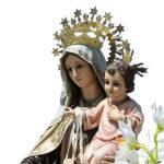 virgen del carmen rosario por chile