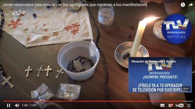 rosarios con perdigones