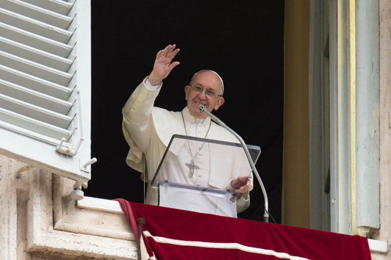 papa francisco angelus