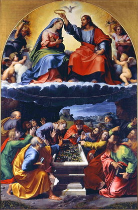 misterios gloriosos coronacion maria