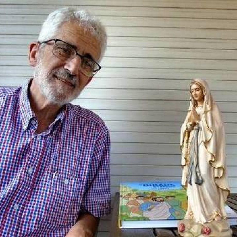 Dibujante Picanyol regresó a la fe tras décadas de New Age: el Rosario lo transformó