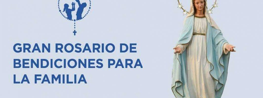 Rosario de Bendiciones para la Familia avanza de Uruguay a Argentina