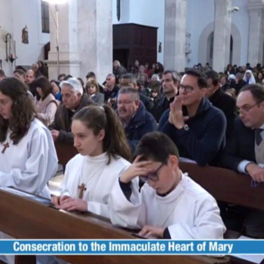 Así fue el Rezo del Rosario en Fátima