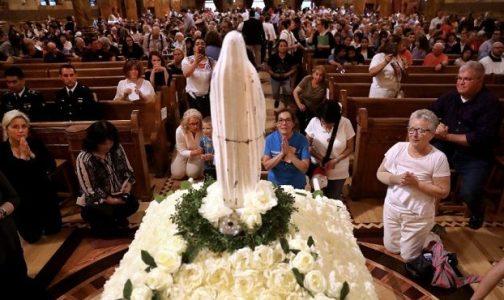 La «Virgen Quebrada» que fue rescatada de la basura y ahora es foco de peregrinación